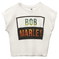 Bob Marley™ Crop Tee | Wet Seal