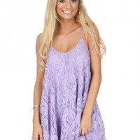 Oasis Dress In Lilac | Monday Dress Boutique