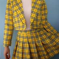 Ready To Post - Cher Blazer & As If Skirt (pleated version)