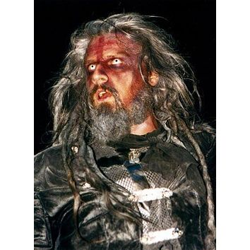 Rob Zombie Poster Standup 4inx6in