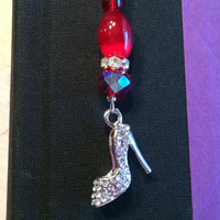 Red High Heel - Clip On Bookmark