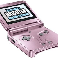 Game Boy Advance SP Pearl Pink