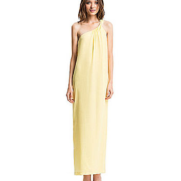 CeCe by Cynthia Steffe Asher One-Shoulder Maxi Dress - Aurora