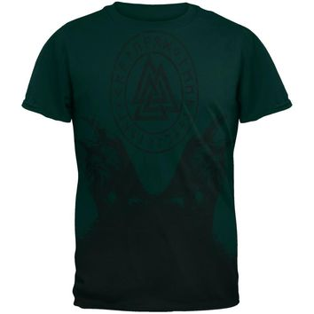Huginn and Muninn Odin's Ravens Mens T Shirt