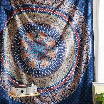 Magical Thinking Dylan Blu Medallion Tapestry