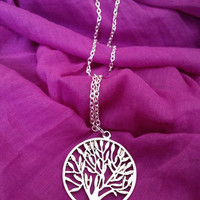 Insurgent inspired silver plated necklace
