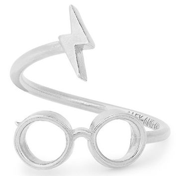 Alex and Ani Harry Potter™ Glasses Wrap Ring | Nordstrom