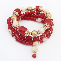 Stylish Hot Sale Great Deal New Arrival Gift Shiny Awesome Vintage Elastic Bracelet [4918780868]
