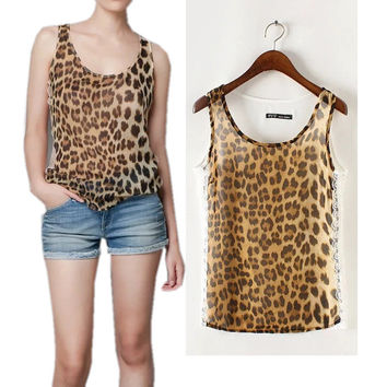 Bralette Sexy Stylish Beach Hot Summer Comfortable Women's Fashion Lace Mosaic Leopard Tops Vest [6047650689]
