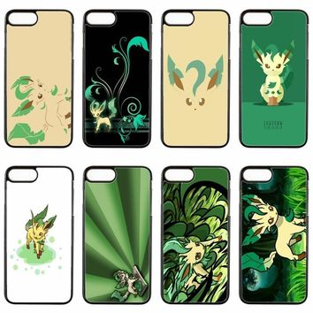 cute kawaii anime  leafeon cover case For LG G2 G3 G4 Stylus G5 G6 Nexus 4 5 5x google 6 K10 2017 V20 phone caseKawaii Pokemon go  AT_89_9