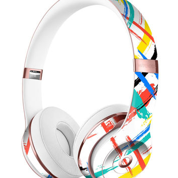 Intersecting Vector Bright Strokes Full-Body Skin Kit for the Beats by Dre Solo 3 Wireless Headphones