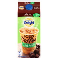 International Delight Mocha Light Iced Coffee 0.5 gal. Carton - Walmart.com