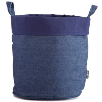 Indigo Denim Recycled Canvas Bucket