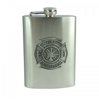 Firefighter Flask (8 oz)