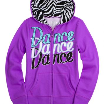 Zebra Sports Fleece Sweatshirt | Girls Sweatshirts Clothes | Shop Justice