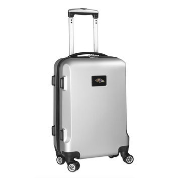 Baltimore Ravens  20'' Hardcase Luggage Carry-on Spinner-Silver