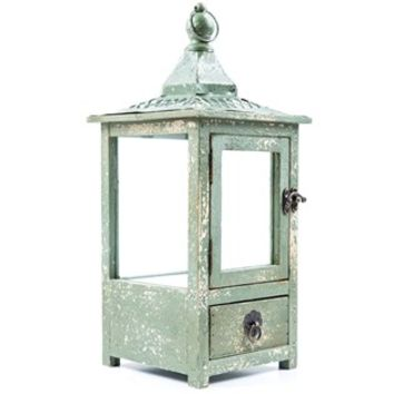 Distressed Green Lantern with Single Drawer | Shop Hobby Lobby