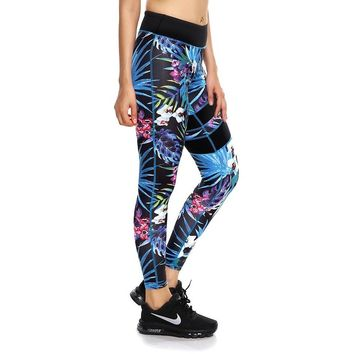ACTIVEWEAR TROPICAL PARADISE LEGGINGS - (Limited Edition)
