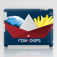 FishNChips iPad Case by Matt Irving