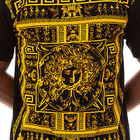 Last Kings Tee Rhyme in Black and Gold