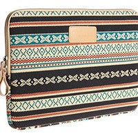 Dachee 2014 New Bohemian Style Canvas Fabric 13 Inch Laptop Sleeve Macbook / Macbook Pro / Macbook Air Sleeve Case Dell / Hp /Lenovo/sony/ Toshiba / Ausa / Acer /Samsun Ultrabook Bag Cover