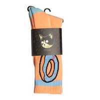 DONUT SOCKS PEACH – Odd Future