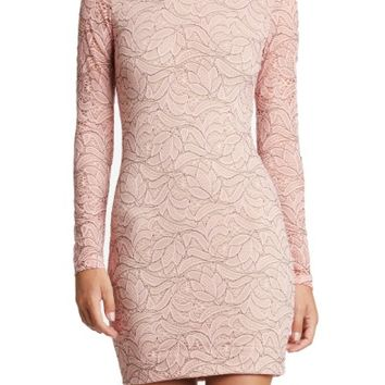 Dress the Population Penelope Lace Body-Con Dress | Nordstrom