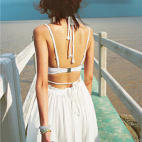 The Perfect Resort Maxi Dress in White