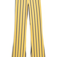 Topshop Stripe Flare Trousers | Nordstrom