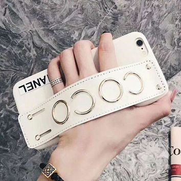 CHANEL COCO Fashion Trending iPhone Phone Cover Case For iphone 6 6s 6plus 6s-plus 7 7plus iPhone8 (3-Color) I