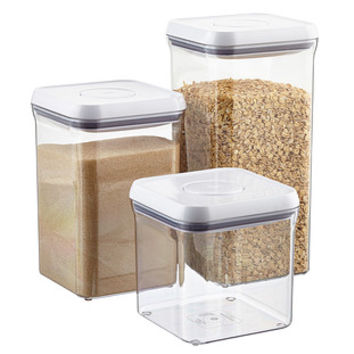 """OXO Good Grips 4"""" Square POP Canisters"""