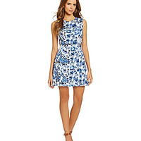 Gianni Bini Venice Dress - Blue Print