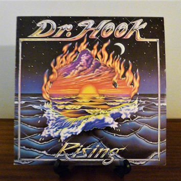 Vintage 1980 Dr Hook : Rising Vinyl LP Album Released by Mercury - Polygram Records / Soft Rock / Country Music