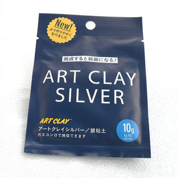 Art Clay Silver Precious Metal Clay DIY Jewelry Making Supplies Supply 10g Craft Crafting Material New Formula
