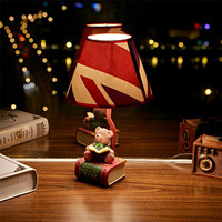 Colorful Bright Cartoons Lamp Creative Resin LED Children Bedroom Bedside Lamp [6283351110]