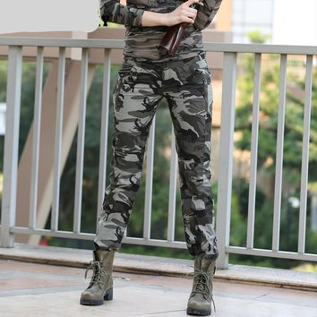 Military Camouflage Jogger Pants
