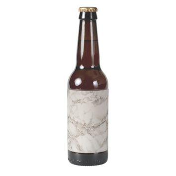Marble Stone Beer Bottle Label