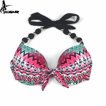 Bikinis Women 2018 Separately Top and Bottom Swimsuit Push Up Brazilian Bikini Set Halter Swimwear Sexy Beachwear Bathing Suits