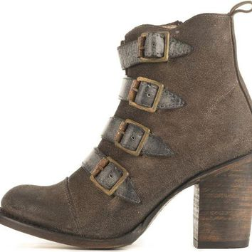 DCCKLP2 Freebird by Steven for Women: FB-Banjo Grey Heel Booties