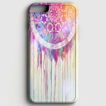 Bmth Sempiternal In Rainbow Watercolor Drop iPhone 8 Case | casescraft
