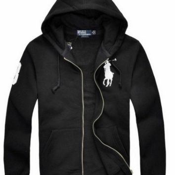 ONETOW NEW RALPH LAUREN MEN'S POLO HOODIE FLEECES JACKET COAT