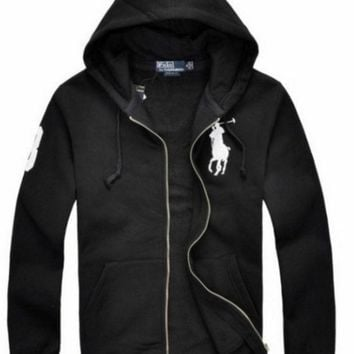 DCCKO03T NEW RALPH LAUREN MEN'S POLO HOODIE FLEECES JACKET COAT