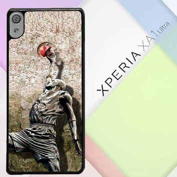 Michael Jordan Slam Dunk Carbonite V0979 Sony Xperia XA1 Ultra Case
