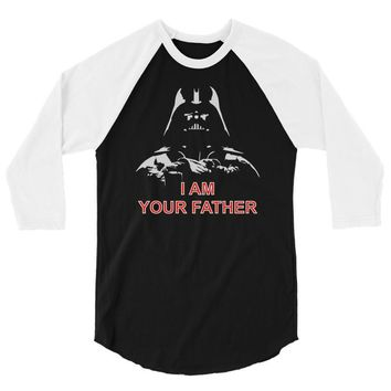 i am your father   mens funny 3/4 Sleeve Shirt
