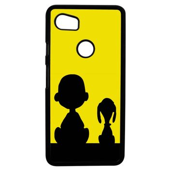 Snoopy And Charlie Brown Google Pixel 2XL Case