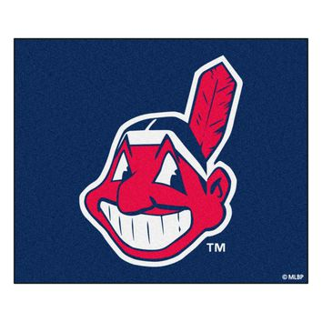 Cleveland Indians Tailgater Rug 5x6