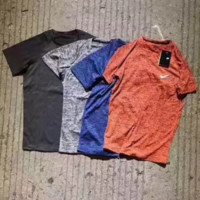 """Nike"" Summer Fashion Movement Leisure Round Neck Short Sleeve T-Shirt"