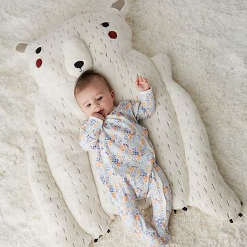 Polar Bear Baby Play Mat