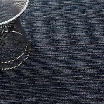 Skinny Stripe Indoor/Outdoor Mat | Blue