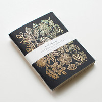 Rifle Paper Co. - Gold Foil Pocket Notebooks